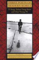 Three Poets of Modern Korea