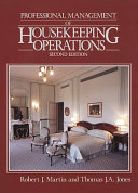 Professional Management of Housekeeping Operations Book PDF