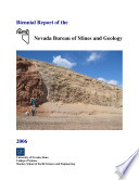 Biennial Report Of The Nevada Bureau Of Mines And Geology book
