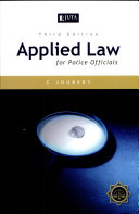 Applied Law For Police Officials