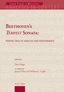 Beethoven's Tempest Sonata
