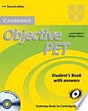 Objective PET   Second Edition  Student s Book with Answers and CD ROM