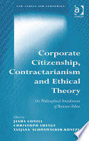 Corporate Citizenship  Contractarianism and Ethical Theory