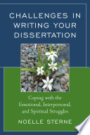 Challenges in Writing Your Dissertation