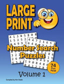 Number Search Puzzle Book for Adult