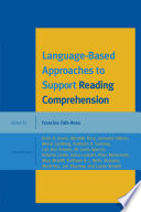 Language Based Approaches to Support Reading Comprehension