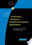 Surfactants Chemistry Interfacial Properties Applications book
