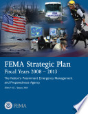 Fema Strategic Plan Fiscal Years 2008 2013