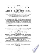 The History of the American Indians
