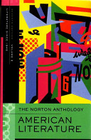 The Norton Anthology of American Literature  Beginnings to 1700   American literature  1700 1820   Native American literatures