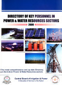 Directory of Key Personnel in Power   Water Resources Sectors