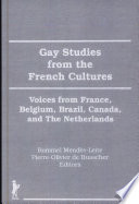 Gay Studies from the French Cultures