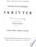Det Kongelige Danske videnskabers-selskabs skrivter for aar ...