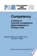 Competency : finally leads to a published work....