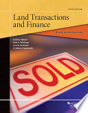 Black Letter Outline on Land Transactions and Finance