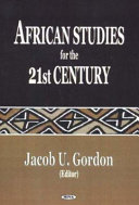 African Studies for the 21st Century