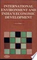 International Environment and India s Economic Development