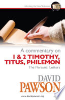A Commentary on 1   2 Timothy  Titus  Philemon