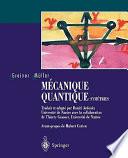 illustration Mécanique quantique. Symétries