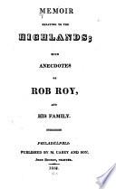 Memoir Relating to the Highlands
