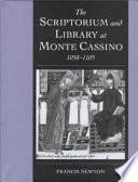 The Scriptorium And Library At Monte Cassino 1058 1105
