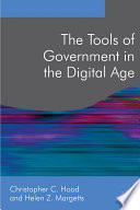 The Tools of Government in the Digital Age