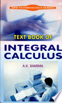 Text Book Of Integral Calculus