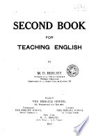 Second Book for Teaching English