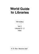 World Guide to Libraries