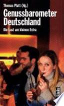 Genussbarometer Deutschland