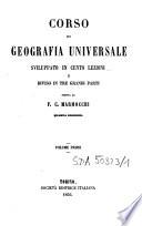 Corso di geografia universale