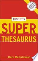 Roget s Superthesaurus