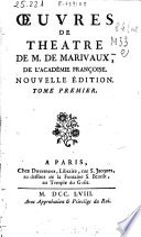Ebook Oeuvres de theát?re de M. de Marivaux ... Epub Pierre Marivaux Apps Read Mobile