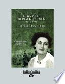 Diary of Bergen Belsen  Large Print 16pt
