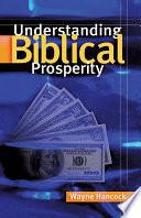 Understanding Biblical Prosperity