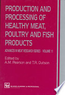 Healthy Production and Processing of Meat  Poultry and Fish Products  Volume 11