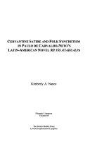 Cervantine Satire and Folk Syncretism in Paulo de Carvalho Neto s Latin American Novel Mi T  o Atahualpa