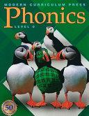 Phonics, Level C Work Mcp Phonics Level C Integrates Phonics Instruction