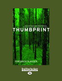 Thumbprint (Large Print 16pt) Of Gerzenstein Appears To Be An