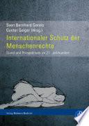 Internationaler Schutz der Menschenrechte