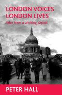 download ebook london voices, london lives pdf epub