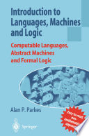 Introduction to Languages  Machines and Logic