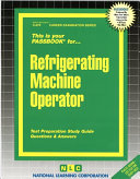 Refrigerating Machine Operator