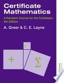Certificate Mathematics