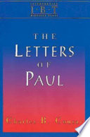 The Letters Of Paul : the seven undisputed epistles of...