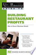 Building Restaurant Profits