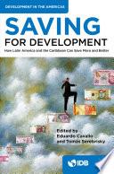 Saving for Development