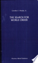 The Search for World Order