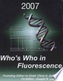 Who s Who in Fluorescence 2007