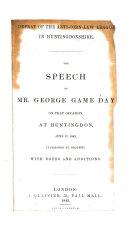 download ebook defeat of the anti-corn-law league in huntingdonshire pdf epub
